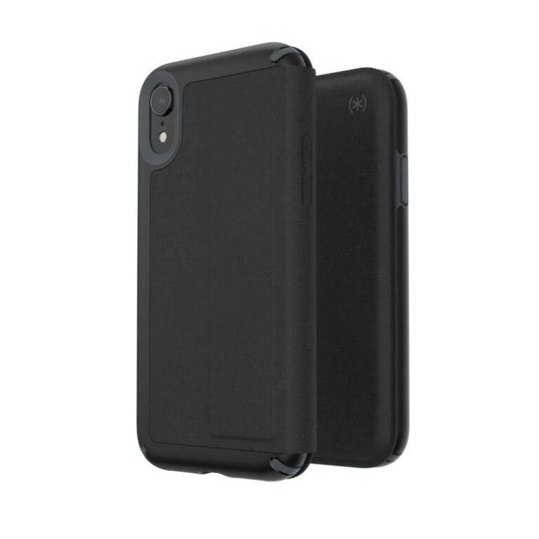 the best attitude 5e69c 870fc Etui iPhone XR z kieszenią na karty Speck Presidio Folio - czarne