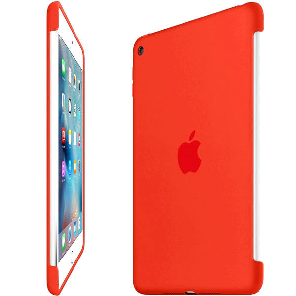 0497f18e1cf0eb Etui do iPad mini 4 Apple Silicone - czerwone | Etui i torby