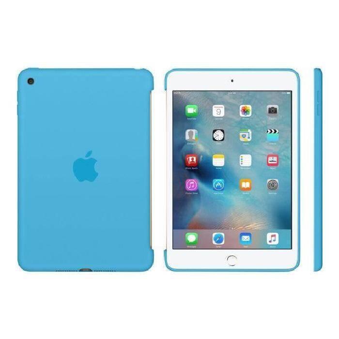 93f589e9d84b78 Etui do iPad mini 4 Apple Silicone - niebieskie | Etui i torby