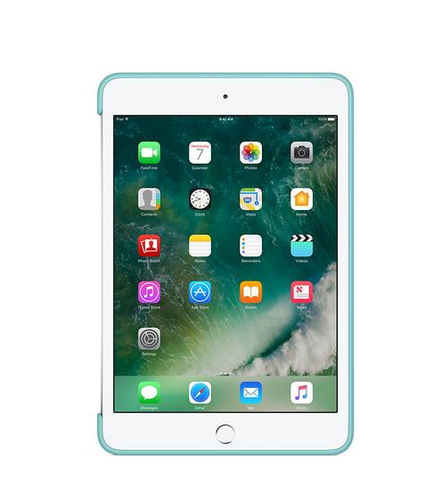 d9f2d14f9a678b Etui do iPad mini 4 Apple Silicone - turkusowy | Etui i torby