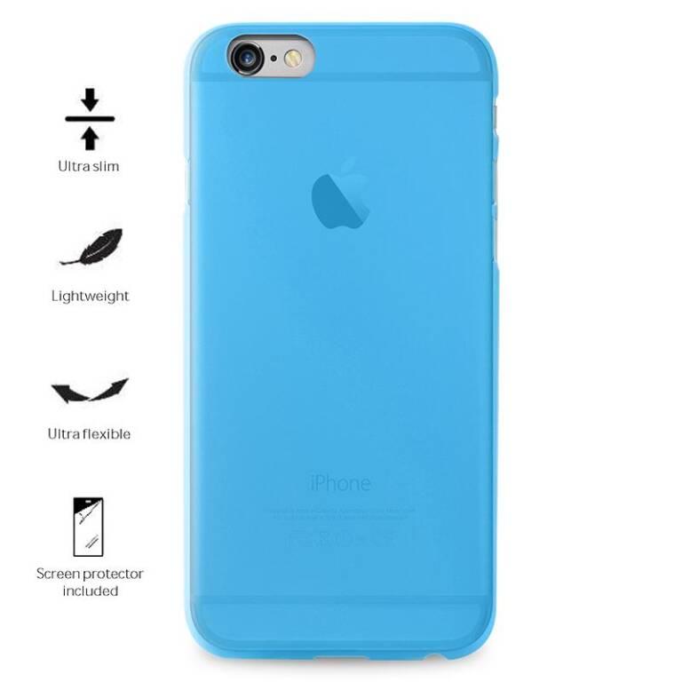 più economico 63c4c ea4af Etui do iPhone 7/8 PURO Ultra Slim 0.3 Cover + folia - niebieskie