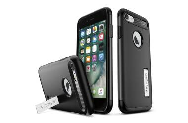 Etui do iPhone 7/8 Spigen Rugged - czarne