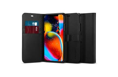 Etui do iPhone 11 Pro Spigen Wallet - czarne