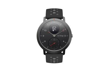 Smartwatch z pomiarem pulsu Withings Steel HR Sport 40mm czarny