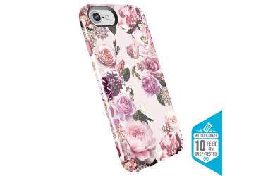 Speck Presidio Inked - Etui iPhone 8 / 7 / 6s / 6 (Lightpinkflowers/Parfait Pink)