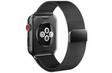Bransoleta do Apple Watch 42/44mm TECH-PROTECT Milaneseband  - czarna