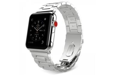 Bransoleta do Apple Watch 42/44mm TECH-PROTECT Stainless -srebrna