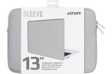 Etui do MacBook Pro 13 eSTUFF Sleeve - szare