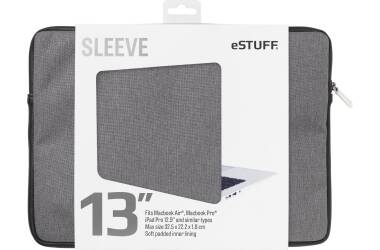 Etui do MacBook Pro 13 eSTUFF Sleeve Fits - szare