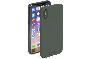 Etui do iPhone X Krusell Sandby Cover -  zielone