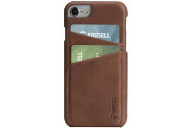 Etui do iPhone 7 Krussel Card Cover Brown