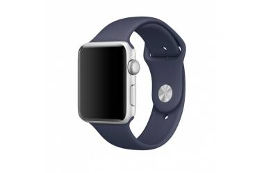 Bransoleta do Apple Watch TECH-PROTECT Smoothband w kolorze granatowym (42/44mm)