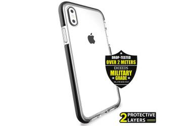 Etui do iPhone X PURO Impact Pro Flex Shield - czarne