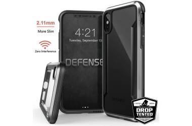 X-Doria Defense Shield - Etui aluminiowe iPhone X (Silver)