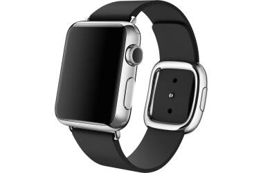 Pasek do Apple Watch 38/40mm Apple Modern Buckle (M) - czarny