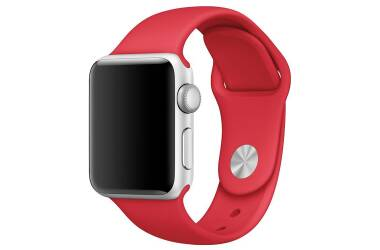 Bransoleta do Apple Watch 38/40mm TECH-PROTECT Smoothband - czerwona
