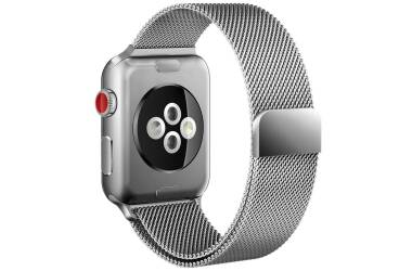 Pasek do Apple Watch 38/40mm Tech-Protect Milaneseband - srebrny