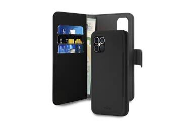 Etui do iPhone 12/12 Pro PURO Wallet Detachable - czarne