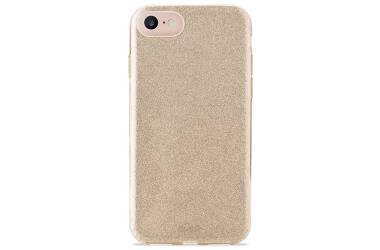 Etui do iPhone 6/6s/7/8/SE 2020 PURO Glitter Shine Cover - złote