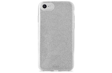 PURO Glitter Shine Cover - Etui iPhone 8 / 7 / 6s / 6 (Silver)