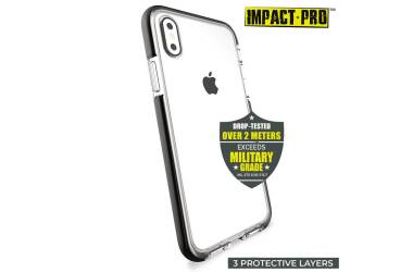 Etui do iPhone XR PURO Impact Pro Flex Shield - czarne