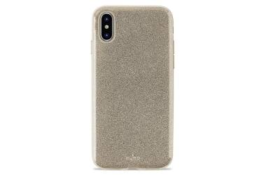 PURO Glitter Shine Cover - Etui iPhone Xs Max (Gold)