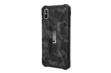 Etui do iPhone Xs Max UAG Pathfinder Midnigt Camo - czarne