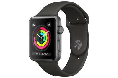 Apple Watch Series 3 42 mm Gwiezdna Szarość