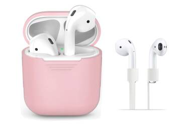 Etui do AirPods TECH-PROTECT - różowe