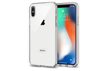 SPIGEN SGP Liquid Crystal Clear etui iPhone X