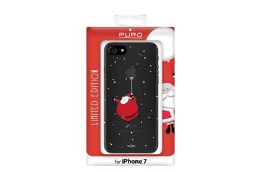 Etui do iPhone 7 PURO Ultra Slim 0.3 Cover Santa