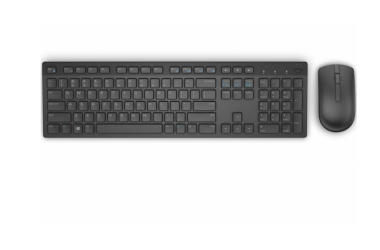 Klawiatura Dell Wireless Keyboard and Mouse - KM636 - US Intl Black
