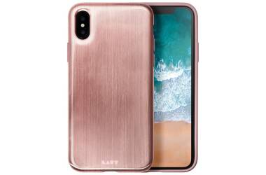 Etui do iPhone X Laut Huex Metallics - różowe