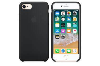 Etui do iPhone 7 Apple Silicone - czarne