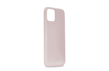 Etui do iPhone 11 Pro Max Puro Icon - piaskowy róż