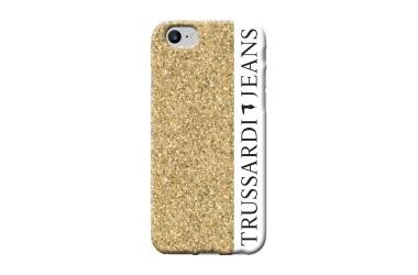 Etui do iPhone 7/8 TRUSSARDI Pro - złote