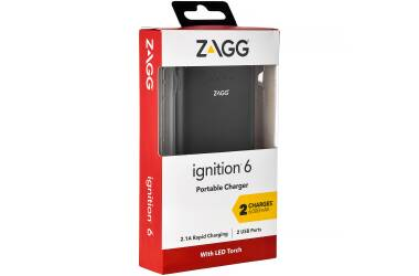 Bateria zewnętrzna Zagg Power Bank ignition 6000mAh