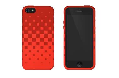 Etui do iPhone 5/5S/SE XtremeMac - czerwone