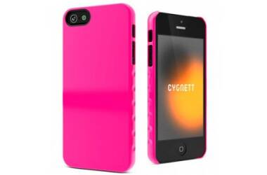 Etui do iPhone 5/5S/SE CYGNETT Pink Form Slim Hard - różowe