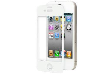 Moshi-iVisor AG (iPhone 4) White Folia