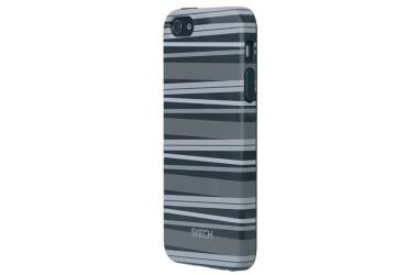 Etui do iPhone 5/5s/SE Skech Groove - szare