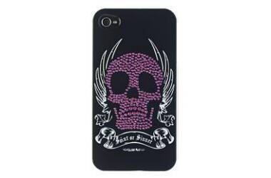 Etui do iPhone 4/4s GlamRox - czarne