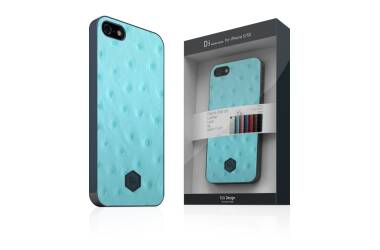 SLGDesign D3 IOL - etui do iPhone SE/5/5S Miętowe