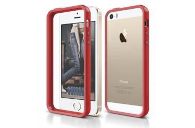 Elago S5 Bumper Red dla iPhone 5/5S