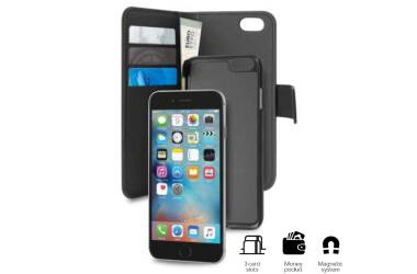 Etui do iPhone 7/8 Plus PURO Wallet Detachable - czarne