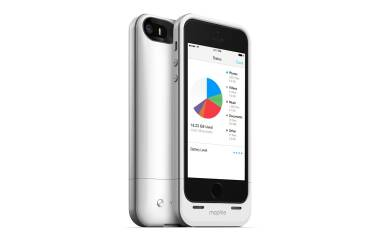 Mophie z baterią 32GB 2000mAh Space Pack iPhone 5/5S/SE Białe