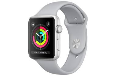 Apple Watch Series 3 42 mm Srebrny