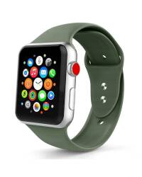 Pasek do Apple Watch 1/2/3/4/5 (42/44mm) Tech-Protect Smoothband - nocna zieleń  - zdjęcie 1