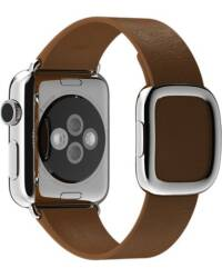 Pasek do Apple Watch 38/40mm Apple Modern Buckle (S) - brązowy - zdjęcie 2