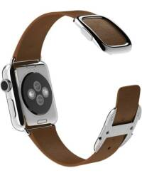 Pasek do Apple Watch 38/40mm Apple Modern Buckle (S) - brązowy - zdjęcie 5